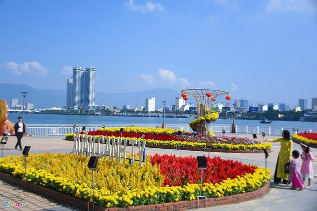 Ngắm đường hoa hơn 6 tỷ ở Đà Nẵng - Ảnh 3.