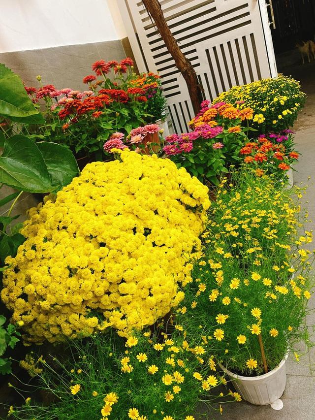 Nhà được trang hoàng ngập sắc hoa của Hoa hậu Khánh Vân - Ảnh 6.