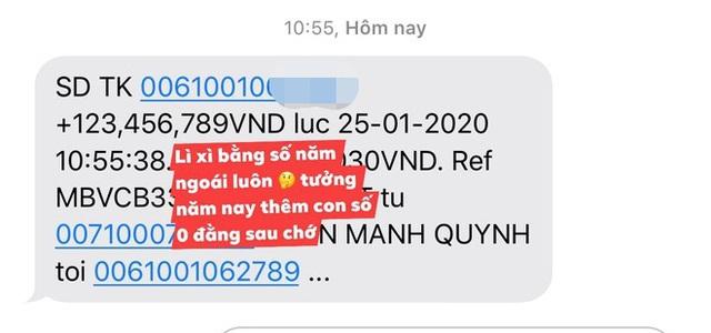 Phan Mạnh Quỳnh lì xì bạn gái hơn 123 triệu đồng - Ảnh 2.