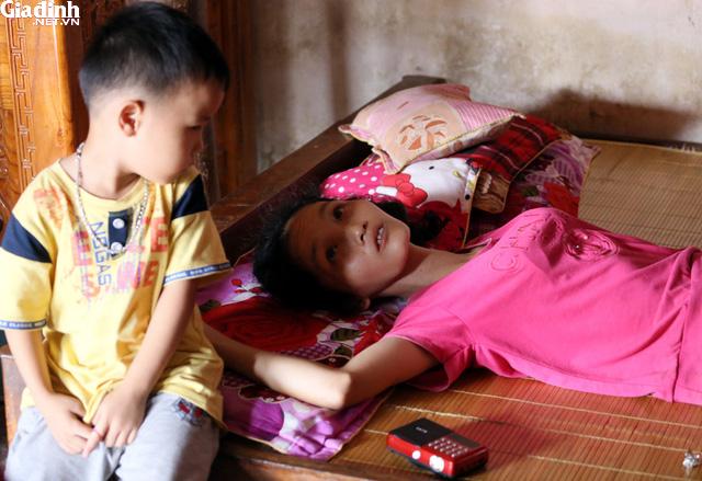 Tết ấm về với bà mẹ đơn thân bị ung thư ở Bắc Giang - Ảnh 2.