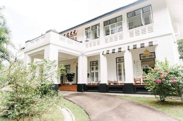 Nhà cổ 80 năm tuổi ở Singapore của Bằng Lăng - Ảnh 1.