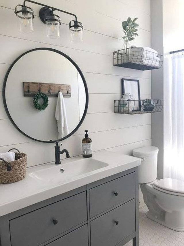10 cách không ai ngờ tới giúp tiết kiệm khối tiền khi sửa sang phòng tắm  - Ảnh 3.