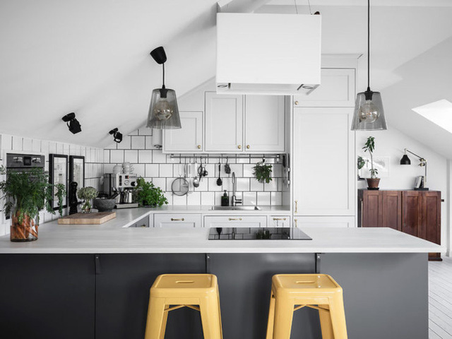 10 cách siêu dễ để tạo một không gian nấu nướng thanh lịch theo phong cách Scandinavian - Ảnh 2.