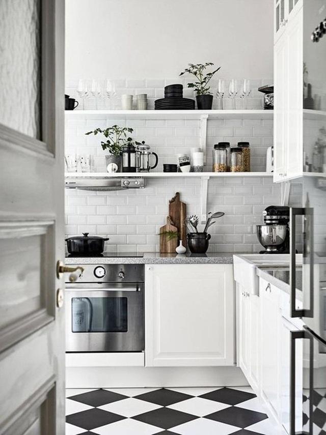 10 cách siêu dễ để tạo một không gian nấu nướng thanh lịch theo phong cách Scandinavian - Ảnh 3.