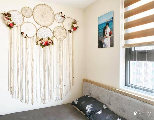 Căn hộ 76,9m² ấm áp với đủ loại hoa và nội thất gỗ ở Mỹ Đình, Hà Nội - Ảnh 21.