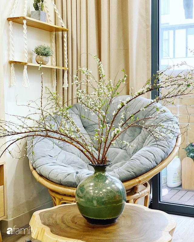 Căn hộ 76,9m² ấm áp với đủ loại hoa và nội thất gỗ ở Mỹ Đình, Hà Nội - Ảnh 31.