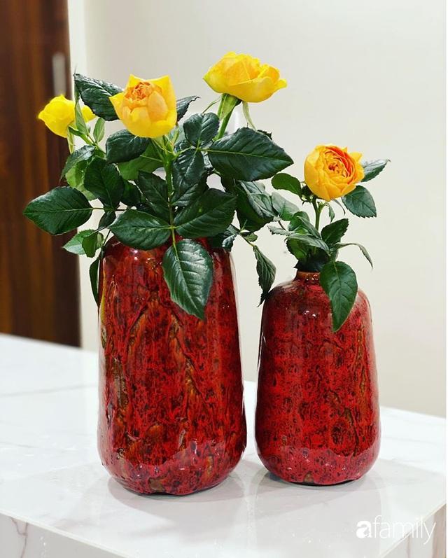 Căn hộ 76,9m² ấm áp với đủ loại hoa và nội thất gỗ ở Mỹ Đình, Hà Nội - Ảnh 33.