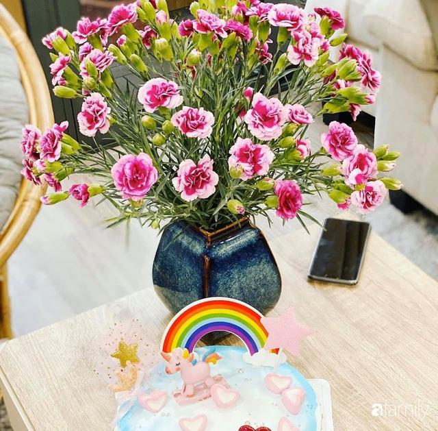 Căn hộ 76,9m² ấm áp với đủ loại hoa và nội thất gỗ ở Mỹ Đình, Hà Nội - Ảnh 34.