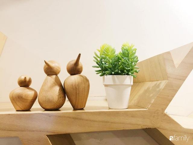 Căn hộ 76,9m² ấm áp với đủ loại hoa và nội thất gỗ ở Mỹ Đình, Hà Nội - Ảnh 36.