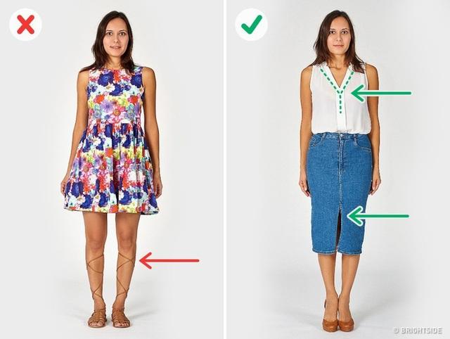 6 sai lầm khi diện đồ khiến các chị em trông béo và dìm dáng hơn hẳn - Ảnh 5.
