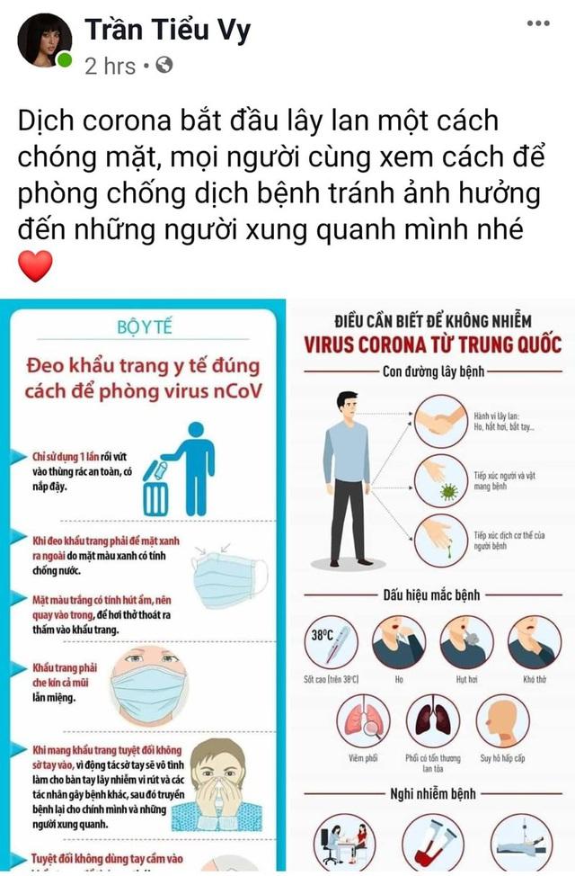 Bảo Thanh, Phan Anh và nhiều Hoa hậu chia sẻ cách phòng chống dịch virus corona - Ảnh 7.