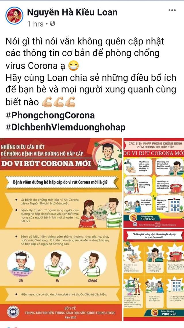 Bảo Thanh, Phan Anh và nhiều Hoa hậu chia sẻ cách phòng chống dịch virus corona - Ảnh 5.