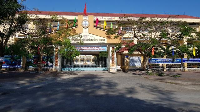 Nam sinh trường chuyên ở Sóc Trăng tử nạn trong chuyến đi trải nghiệm - Ảnh 1.