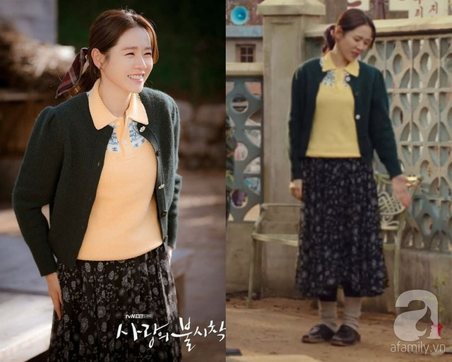 Ngắm Son Ye Jin chợt nhận ra combo váy áo dễ biến chị em thành bà cô, nàng ngoài 30 càng phải lưu tâm - Ảnh 3.