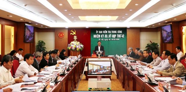 Thi hành kỷ luật Ban Thường vụ Đảng ủy Tổng Công ty Thép Việt Nam  - Ảnh 1.