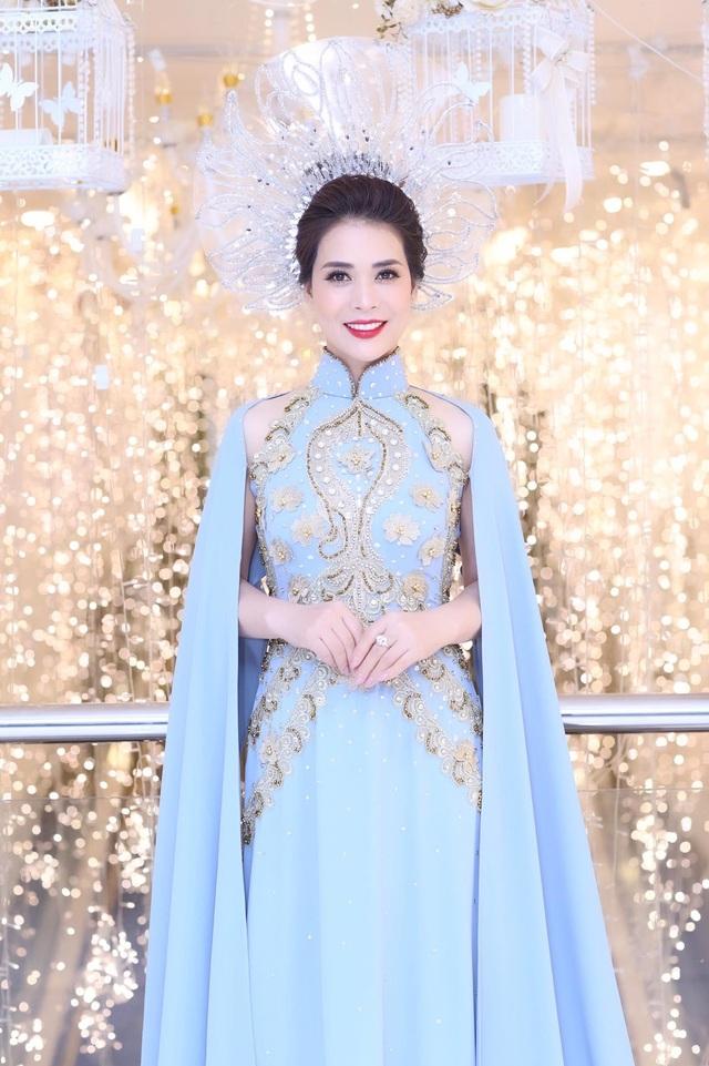 Ngắm nhan sắc như hoa hậu của người yêu nghệ sĩ Chí Trung - Ảnh 2.