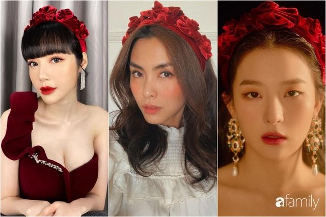 Elly Trần và Hà Tăng cùng đu trend bờm nhung nhưng người quyến rũ bạo liệt, người lại biến hóa khôn lường - Ảnh 8.