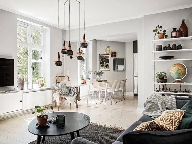 Học cách trang trí độc đáo trong căn hộ 66m² để đón Tết sắp đến - Ảnh 8.