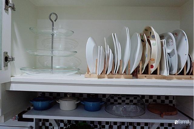 Căn bếp nhỏ xíu xây nhiều năm vẫn gọn đẹp như mới của mẹ đảm ở TP. HCM - Ảnh 10.