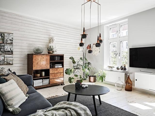 Học cách trang trí độc đáo trong căn hộ 66m² để đón Tết sắp đến - Ảnh 10.