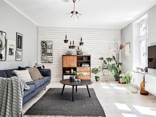 Học cách trang trí độc đáo trong căn hộ 66m² để đón Tết sắp đến - Ảnh 11.