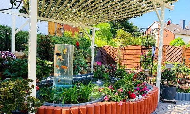 Vườn hoa 500m² đẹp như cổ tích được tạo bởi tình yêu thiên nhiên của cặp vợ chồng dành cả thanh xuân để trồng cây - Ảnh 4.