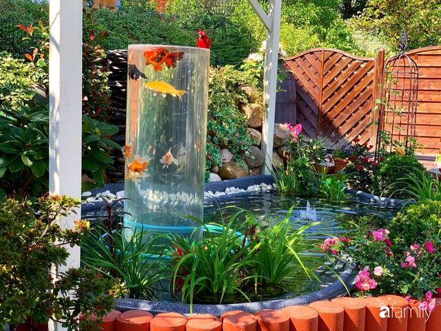 Vườn hoa 500m² đẹp như cổ tích được tạo bởi tình yêu thiên nhiên của cặp vợ chồng dành cả thanh xuân để trồng cây - Ảnh 5.