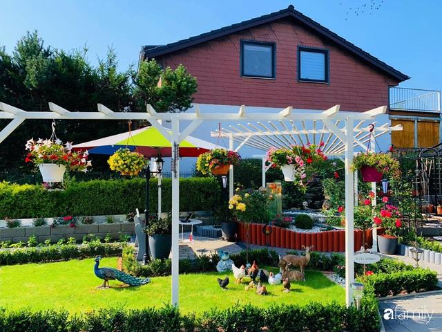Vườn hoa 500m² đẹp như cổ tích được tạo bởi tình yêu thiên nhiên của cặp vợ chồng dành cả thanh xuân để trồng cây - Ảnh 8.