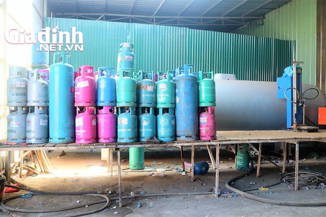 Hải Phòng: Phát hiện nhiều thiết bị sang chiết gas trong cảng Lê Quốc - Ảnh 1.