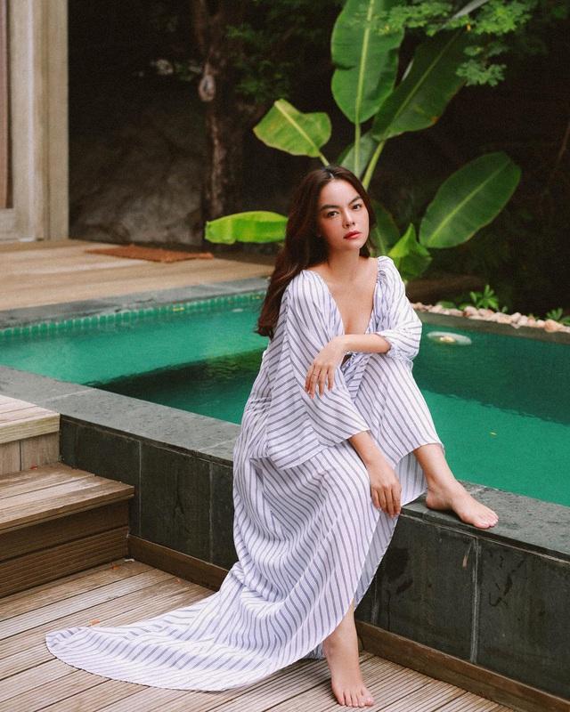"""Sau biến cố hôn nhân, Phạm Quỳnh Anh lần đầu nhắc đến """"ông bầu Quang Huy trên sóng truyền hình - Ảnh 6."""