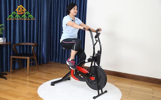 Những lưu ý khi sử dụng máy tập thể dục đạp xe - Ảnh 2.