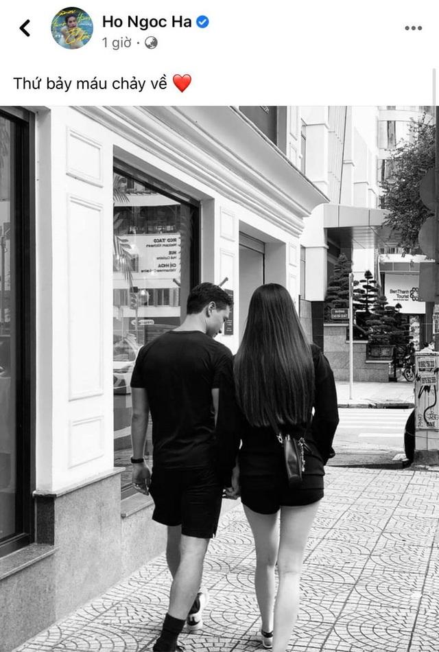 Tranh thủ hẹn hò Kim Lý, Hồ Ngọc Hà lộ vóc dáng cuối thai kỳ gây bất ngờ - Ảnh 1.