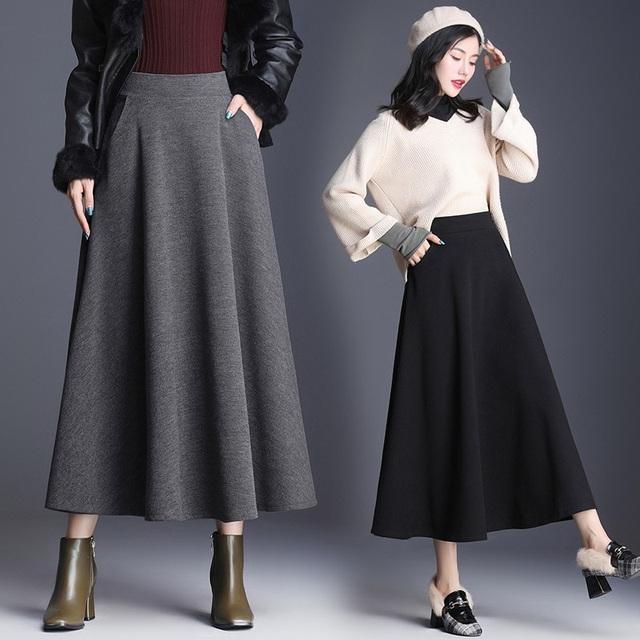 3 kiểu chân váy hot rần rần mùa Thu Đông 2020, nàng có vóc dáng khó mặc đến cũng không thể cưỡng lại được - Ảnh 14.