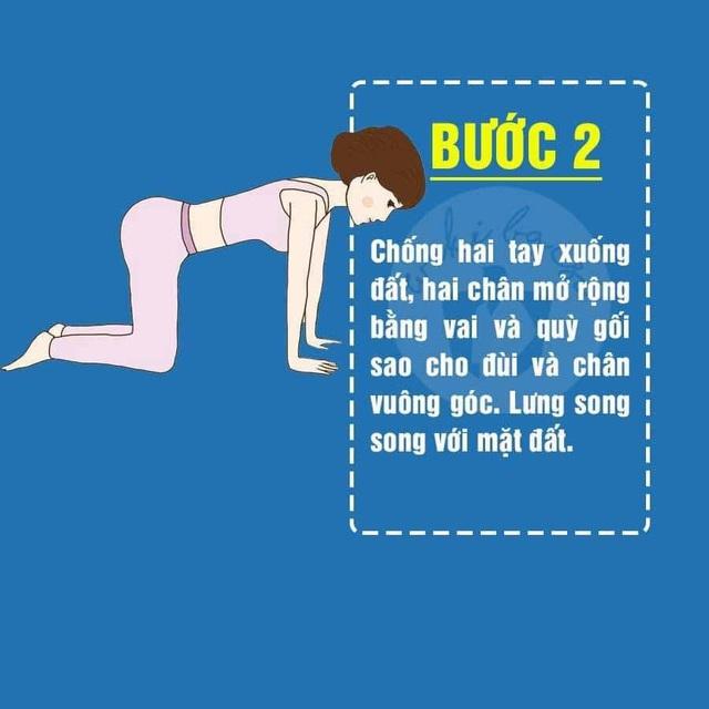 5 động tác Yoga cực đơn giản giúp mông nở chân thon ai cũng có thể tập tại nhà - Ảnh 3.