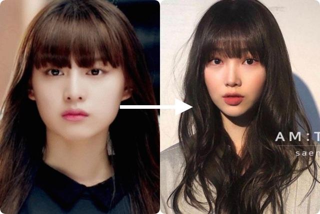 Taeyeon và Hà Tăng khởi xướng xu hướng tóc mái che mặt bánh bao, trán sân bay cực kỳ lợi hại - Ảnh 3.