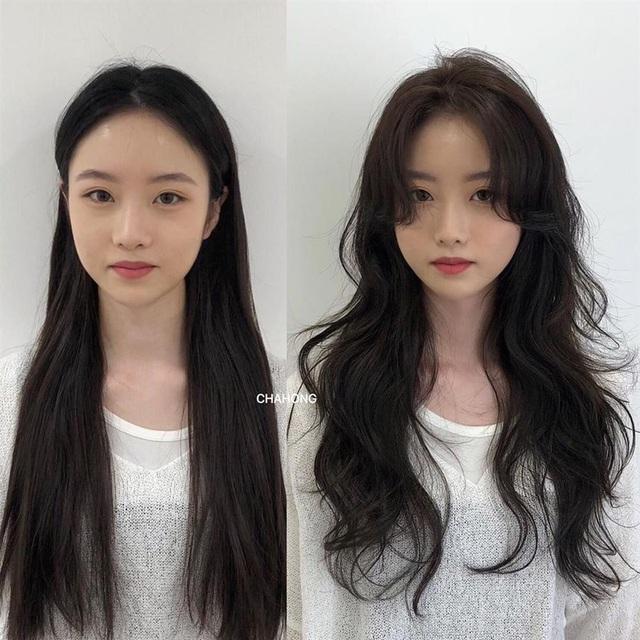 Taeyeon và Hà Tăng khởi xướng xu hướng tóc mái che mặt bánh bao, trán sân bay cực kỳ lợi hại - Ảnh 10.