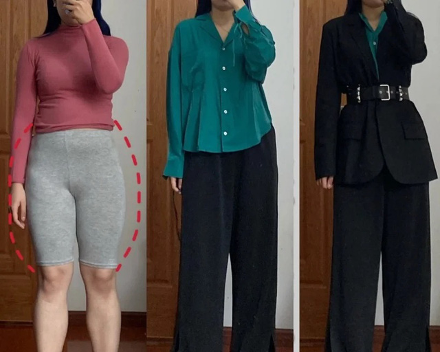 7 cách lên đồ che khéo phần bụng dưới đẫy đà, dáng cũng cao thon hơn 5cm là ít - Ảnh 1.