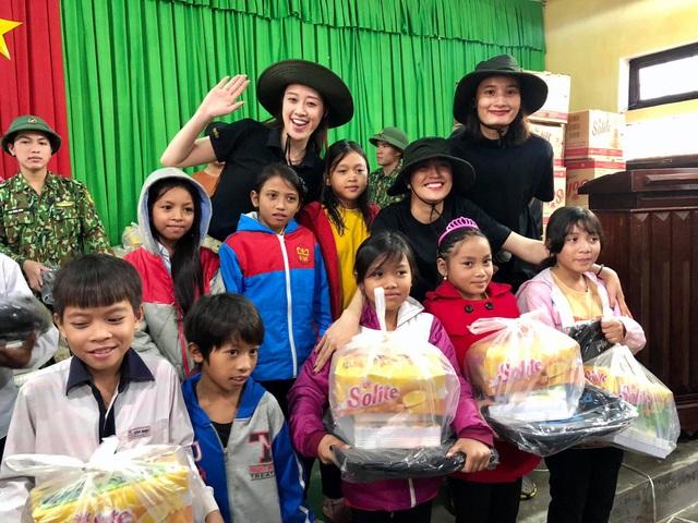 Hoa hậu hoàn vũ Việt Nam chung tay hỗ trợ cộng đồng, khắc phục thiên tai bão lũ - Ảnh 2.