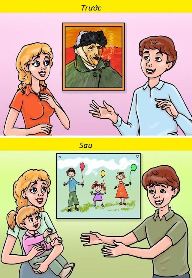 10 khác biệt hài hước trước và sau khi có con - Ảnh 5.