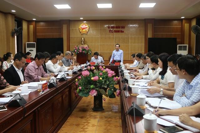 Đoàn công tác Bộ Y tế làm việc tại Thanh Hoá về thực hiện công tác dân số và phát triển - Ảnh 3.