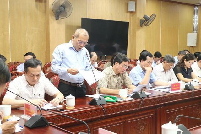 Đoàn công tác Bộ Y tế làm việc tại Thanh Hoá về thực hiện công tác dân số và phát triển - Ảnh 1.
