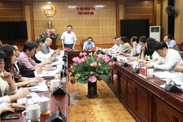 Đoàn công tác Bộ Y tế làm việc tại Thanh Hoá về thực hiện công tác dân số và phát triển - Ảnh 4.