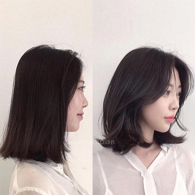 5 kiểu tóc chân ái cho nàng mặt tròn, khiến nhan sắc thanh tú như mới đi tiêm cằm Vline - Ảnh 3.