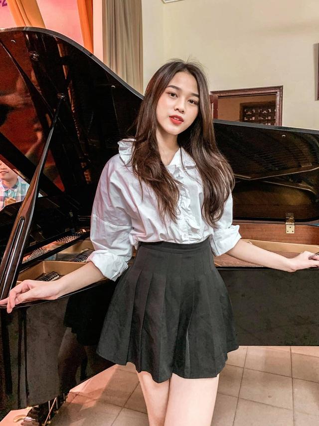 Cô gái có đôi chân dài 1,11 m ở Hoa hậu Việt Nam 2020 - Ảnh 10.