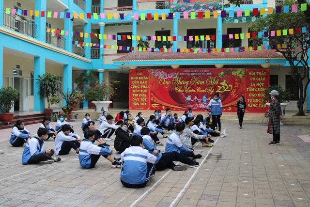 Nhiều trường ở Hải Phòng chủ động phòng chống dịch virus corona  - Ảnh 6.