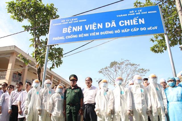 Bệnh viện dã chiến tại TP.HCM chính thức hoạt động từ hôm nay - Ảnh 2.