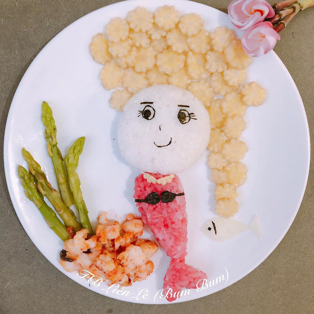 Ngỡ ngàng những món ăn đẹp ngộ nghĩnh mẹ làm cho con - Ảnh 7.