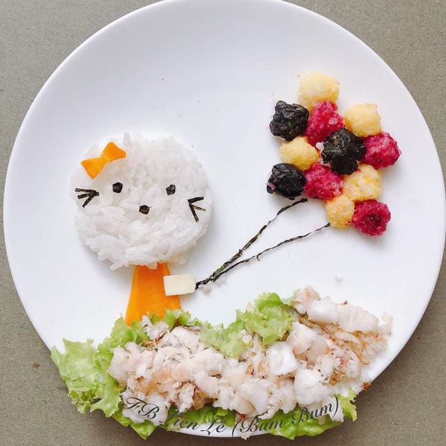 Ngỡ ngàng những món ăn đẹp ngộ nghĩnh mẹ làm cho con - Ảnh 6.
