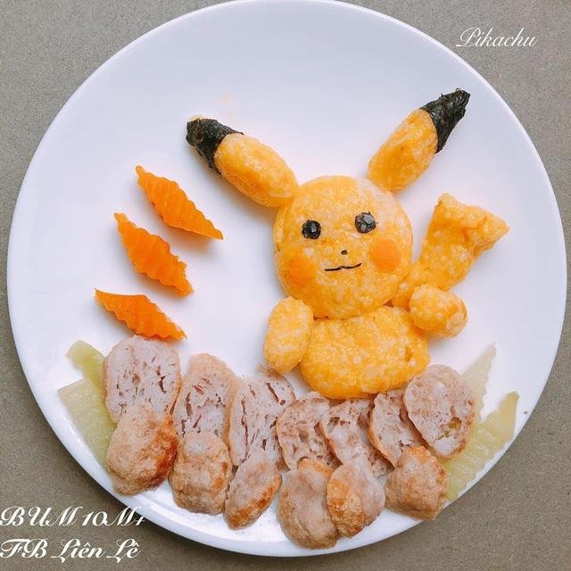 Ngỡ ngàng những món ăn đẹp ngộ nghĩnh mẹ làm cho con - Ảnh 5.