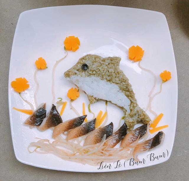 Ngỡ ngàng những món ăn đẹp ngộ nghĩnh mẹ làm cho con - Ảnh 4.